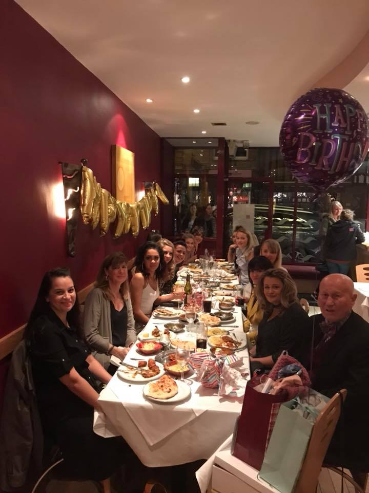 Birth Day Party at Golden Bengal Oxted